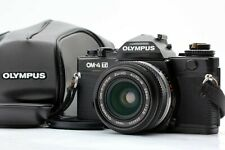 【EX+5】 Olympus OM-4 Ti Black 35mm Film camera + Auto-w 28mm F2.8 From JAPAN 1280