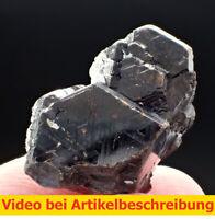 7422 SphaleriteTwin?pseudohexagonal (Wurtzit?) 2,5*2*2,5cm Huanggang China MOVIE