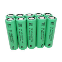 10Pcs 18*65mm Batterie 3000mAh High Drain Li-ion Rechargeable Flat Top Battery
