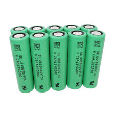 10X 18650 3000mAh 3.7V VTC6 Battery Rechargeable High Drain Li-ion for Vape Smok