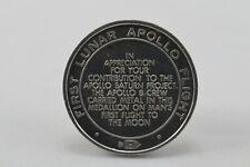 Apollo 8 Flown Metal in First Lunar Flight Coin