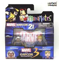 Marvel vs Capcom 3 Minimates Wave 2 Storm vs Jill Valentine