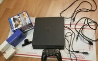 Sony PlayStation 4 SLIM 1TB Bundle, 7 Games wireless controller/ back button att