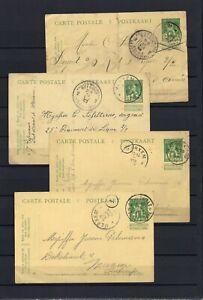 [LG16131] Belgium Nice lot Postal cards UNG