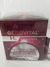 Anti-wrinkle cream concentrated with HYALURONIC ACID ORIGINAL GEROVITAL PRODUCT
