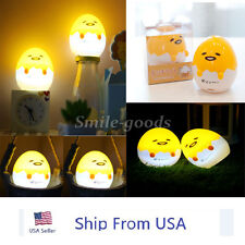1 x Sanrio Gudetama Lazy Egg 8CM Mini Lamp LED Cute Small Night Light Gift Toy