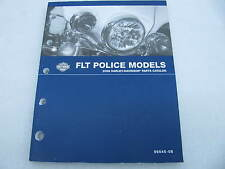 2008 Harley Davidson FLT Police Models Parts Catalog Manual Book 99545-08