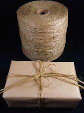 Jute Twine Thin 570m Roll Natural Art Craft Garden Gardening String FREE POSTAGE