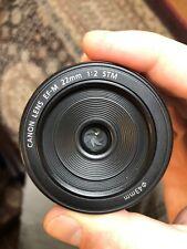 Canon EF-M 22mm f/2 STM MACRO Lens
