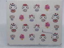 PEGATINA AL AGUA HELLO KITTY Dress Bows Stickers Decal  decoracion uñas nails