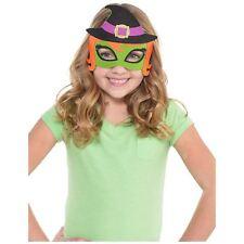 Witch Felt Mask Childrens Halloween Fancy Dress Costume Accessories