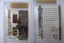 2002-03 ITG Ultimate Memorabilla Ilya Kovalchuk 1/1 stick and jersey GOLD 1 of 1