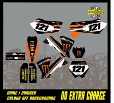 KTM SX 50 65 kit de gráficos de Motocross Calcomanías Pegatinas MX todos los años
