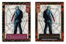 Chameleon #3 The Amazing Spider-Man 1994 Fleer Suspended Animation Trading Card