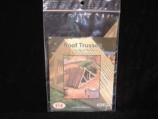 NEW  N scale Osborn Models Roof Trusses pack of 8 kit  RRA-3069