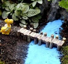 Gray Corridor Miniature Dollhouse Garden Craft Fairy Bonsai Decor Diy 1Pc