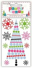 Dovecraft 'Merry Magic' Modern Christmas Craft Collection - Tree Adhesive Gems