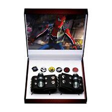 Spiderman Spider Verse Spider Punk Bracelet Pin Replica Set 2019 SDCC Exclusive