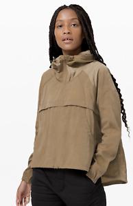 Lululemon Jacket 1/2 Zip Seek Vistas NWT