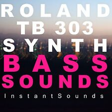 Roland Tb 303 Synth Samples Bass Reason NNXT Refill Wav Soundfont Exs 24 Akai DL