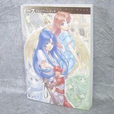 Ys The Art Book w/Poster Illustration Falcom Book SB53*