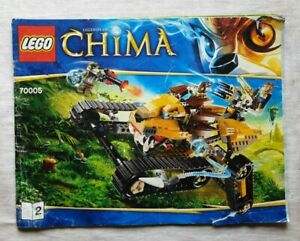 LEGO Legends of Chima 70005 Laval's Royal Fighter (2013) instructions only