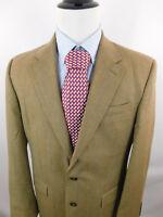 Lauren Ralph Lauren Mens Herringbone Wool 2 Button Sport Coat Blazer Jacket 42L