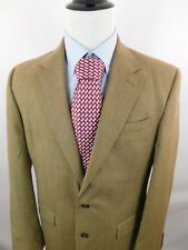 Lauren Ralph Lauren Mens Herringbone Wool 2 Button Sport Coat Blazer Jacket 42L