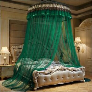 Mosquito Net Bed Netting Canopy Bedding Princess Lace Queen Size Home Elegant