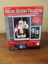 Mr. Christmas Virtual Holiday Projector Kit ~ Including Halloween Movies ~ NEW