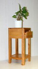 Massivholz Blumentisch 60cm Kernbuche geölt Nachttisch Beistelltisch holz hocker
