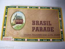 Zigarrenkiste Convento de  Brasil Parade Fehlfarben Lorsa