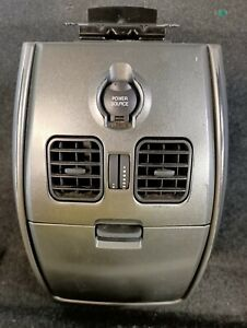 FORD TERRITORY GIA SX SY CENTRE CONSOLE REAR STORAGE COMPARTMENT WORKS WELL.