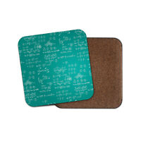 Science Equations Coaster - Maths Physics Teacher Student Engineer Gift #14838