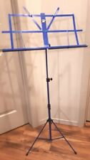 Profile Sheet Music Stand Adjustable with bag color Blue