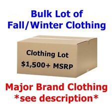 $1,500+ Wholesale Lot *Fall/Winter* Men's/Women's Clothing - Coats, Jackets, etc