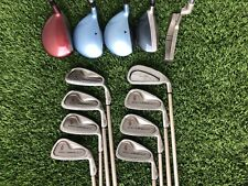 Complete Womens Golf Club Set Nancy Lopez Irons, LPGA Square Two Woods, 13 Clubs