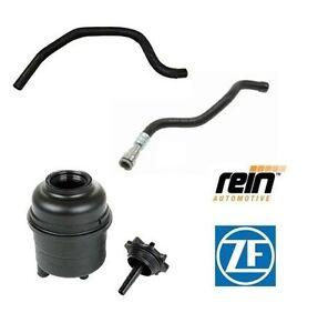 For BMW E46 NEW OEM Power Steering Kit Reservoir Pressure & Return Hose