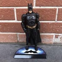 "6"" Mattel DC The Dark Knight Movie Masters BATMAN BEGINS Figure with Stand Base"