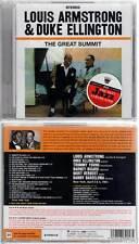"LOUIS ARMSTRONG & DUKE ELLINGTON ""The Great Summit"" (CD) 2012 NEUF"