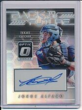 2017 Panini Optic Jorge Alfaro Back To The Future Auto Autograph Texas Rangers