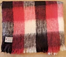 PURE MOHAIR THROW BLANKET, by Glen Cree of Scotland, 4' by 6'