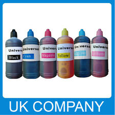 6x100ml Unink Brand Universal Refill Ink Bottle for CISS Refillable Cartridges