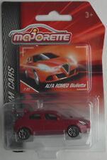 MAJORETTE Premium CARS-ALFA ROMEO GIULIETTA weinrotmet. Nuovo/Scatola Originale