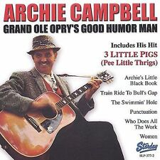 """ARCHIE CAMPBELL, CD """"GRAND OLE OPRY'S GOOD HUMOR MAN"""" NEW SEALED"""