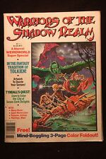 """1979 Warriors of the Shadow Realm Magazine """"Color Illustrations"""" """"Elves,Dragons"""""""