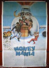 Money Mania, Million Dollar Mystery Jamie Alcroft Org. Lebanese Movie Poster 80s