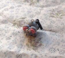 elephant  Anti dust plug Stopper Phone Charm Handmade