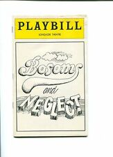 John Guare Bosoms and Neglect Signed Opening Night Autograph Playbill