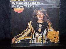 "BONNIE TYLER MY GUNS ARE LOADED - RARE GERMAN 7"" 45 VINYL RECORD P/S"